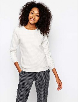 Quilted Sweat Top