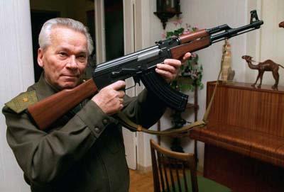 AK-47 rifle designer Mikhail Kalashnikov dies at 94