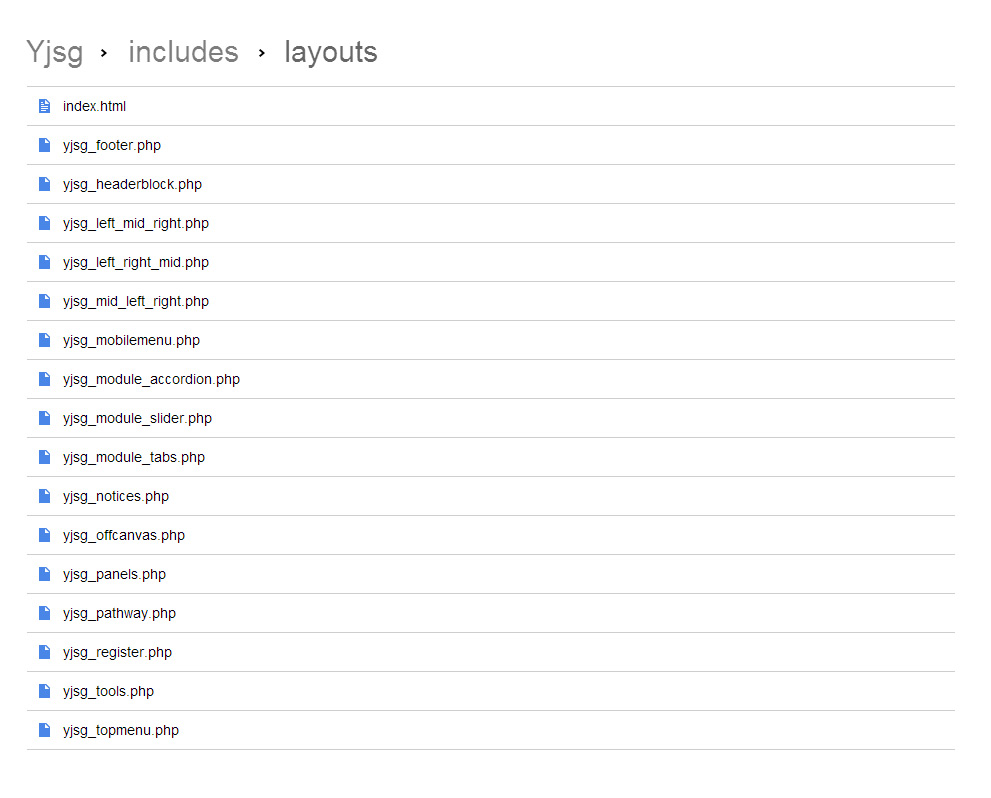 eximium yjsimplegrid v2 joomla templates framework demo