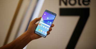 Samsung recalls Note 7 over explosive batteries
