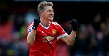 Schweinsteiger named in Manchester United's