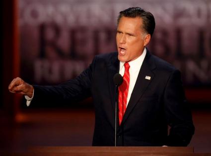 Mitt Romney's convention speech