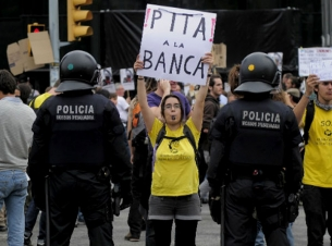 Catalonia heightens Spanish debt fears