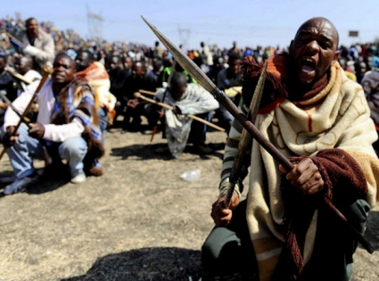 South African miners killed during strike