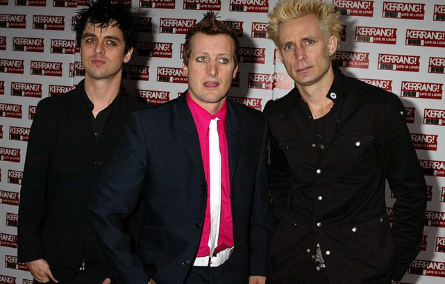 Green Day on the cover of magazine!