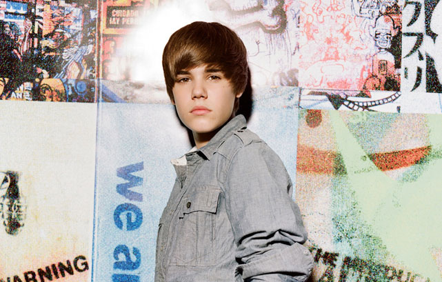 Justin Bieber so young but allready a star