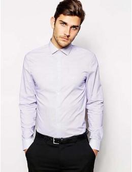Shirt With Jacquard