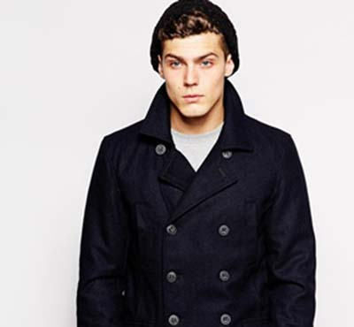 Solid Pea Coat