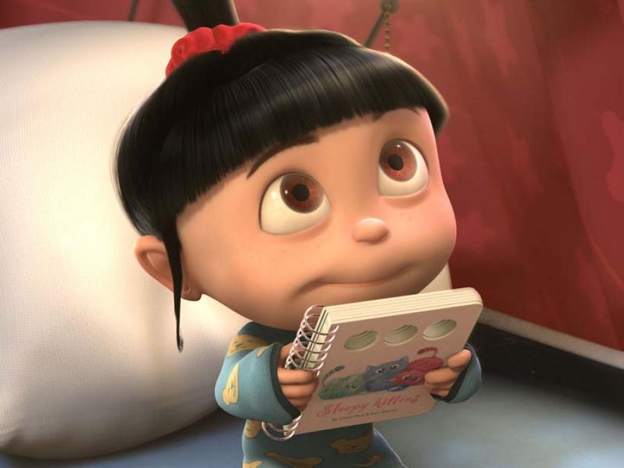 Картинка смешной девочки из мультика, открытки