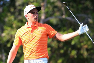 Rickie Fowler fires 64 to claim first-round lead