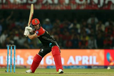 Kings XI overcome AB's one-man show